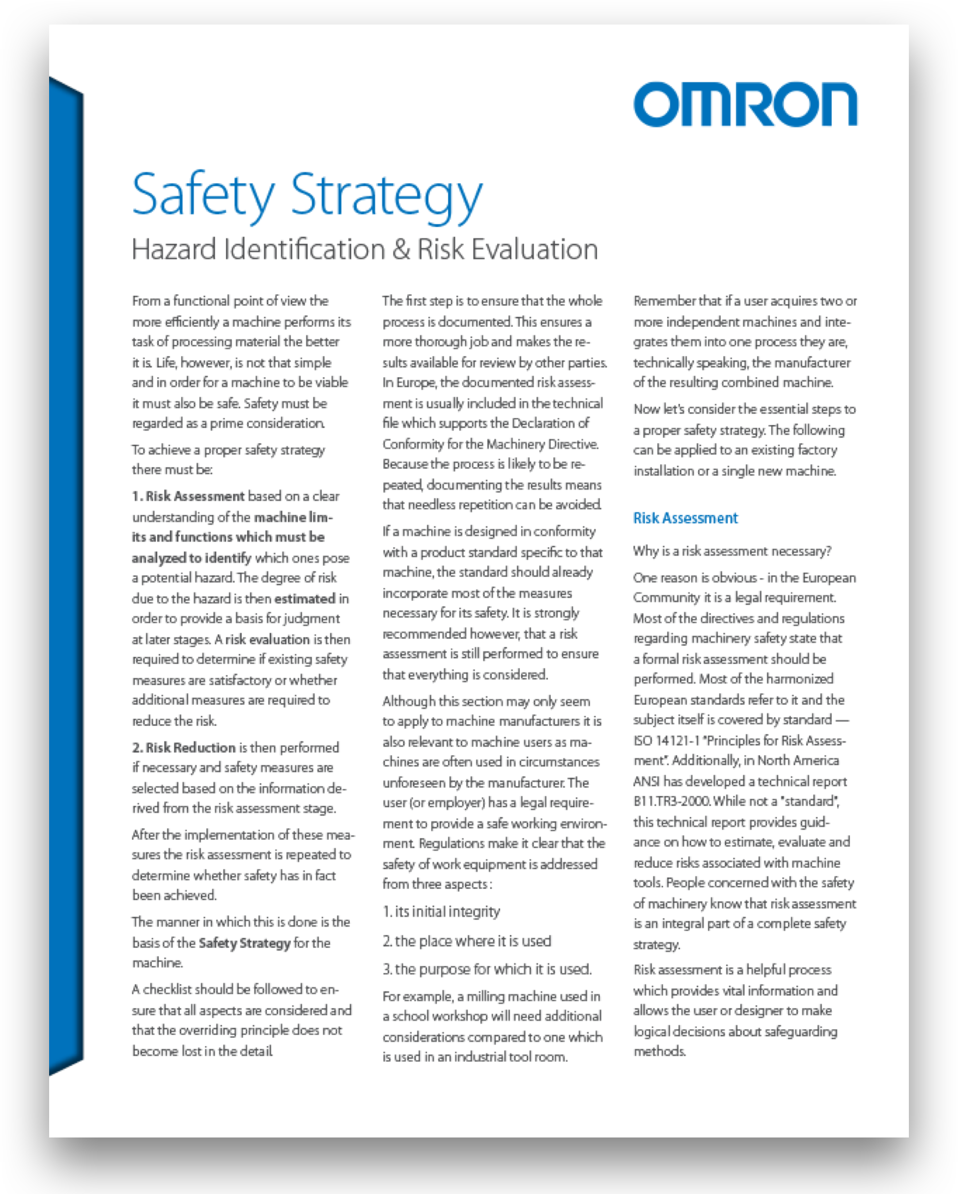 Omron Safety Solutions